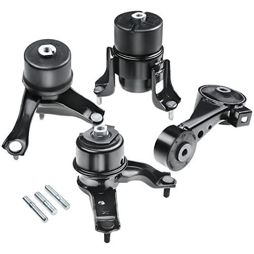 A-Premium Engine Motor and Transmission Mount Compatible with Toyota Camry LE SE XLE 2002-2006 Sedan V6 3.0L Automatic Transmission 4-PC Set