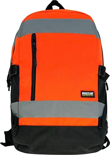 Workteam Wfa401 Naranja - Mochila A.V.Naranja 25L 24X47X15 Wfa401