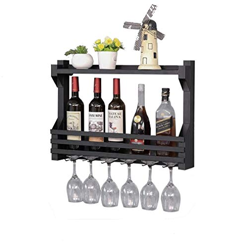 YO-TOKU Metal Wijnrek Met Shelf en wijnglas Holder glasraam Creative Home Decoration Drijvende Rack Wijnrekken Home Decoration