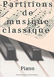 Partitions de musique classique: Piano