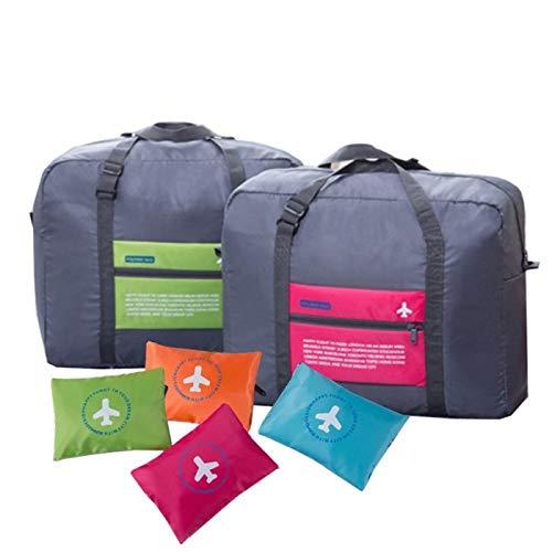 AB SALES Polyester 32 L Waterproof Foldable 2 Piece Travel Storage Luggage Shoulder Flight Bag