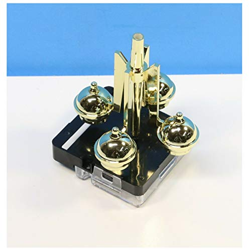 Galapagoz Rotary Rotating Anniversary Clock Ball Pendulum Drive Movement New Battery Powered USA
