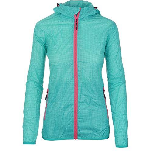 Pignolo P CMP Regenjacke Damen Monsuna | wasserdicht und atmungsaktiv | mit Kapuze und Packbar | 3000 mm Wassersäule | in vielen Farben