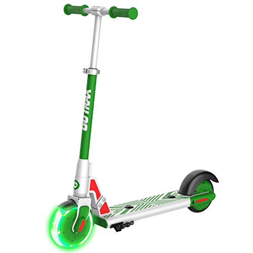 Gotrax GKS LUMIOS Electric Scooter Kick Scooter for Kids Teens (Green), Small