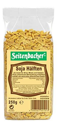 Seitenbacher Soja-Hälften, 8er Pack (8 x 250 g Packung)