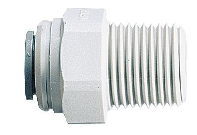 John Guest PI011223S John Guest Threaded Adapters (Pack of 10)