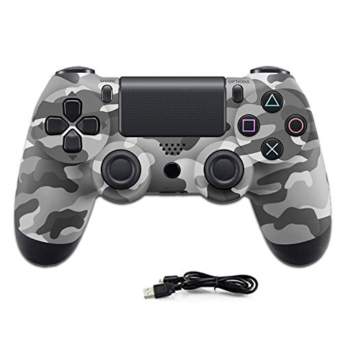YYKJ PS4 Wireless Controller, Double Vibration des Touchpad Gamepad, Timely-Sharing, Geeignet für Playstation 4 / Pro/Slim/PC Notebook-Computer Griff Joystick 1
