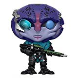naiping Mass Effect Pop Figure Jaal Chibi Vinly PVC Decor Collector's Item