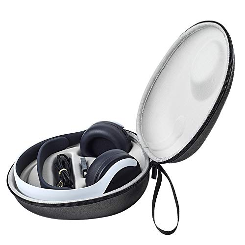 Baomaeyea - Funda de viaje para PlayStation 5 PULSE 3D auriculares inalámbricos, PS 5 Plus 3D bolsa de transporte caja de poliuretano (negro)