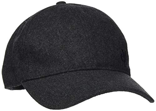 Marc O'Polo Herren 929814201146 Baseball Cap, Grau (Dark Grey Melange 989), One Size (Herstellergröße: OSO)
