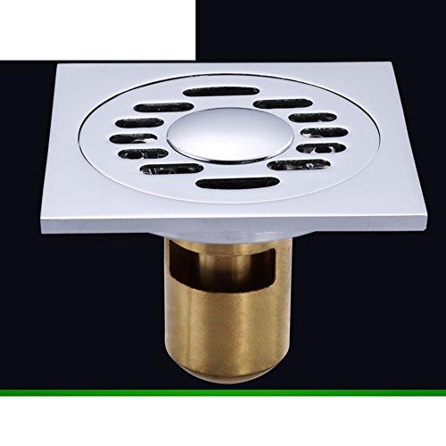 koperen vloer lekkage Badkamer vloer afvoer wasmachine geur Badkamer deodorant kern roestvrij staal vloerafvoer F