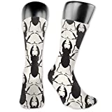 Dydan Tne Unisex Beatle Silhouette Crew Calcetines Athletic Crew Tube Sock Sports Outdoor