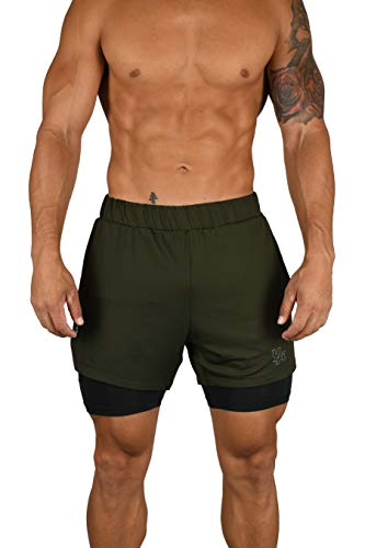 YoungLA Compression Shorts - Soft, Breathable, Stretchy Mens Compression...