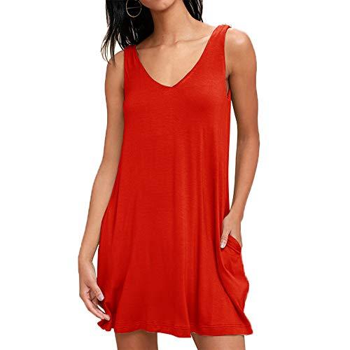 Camisón Mujer Algodon Verano Corto,Vestidos Pijama Casual