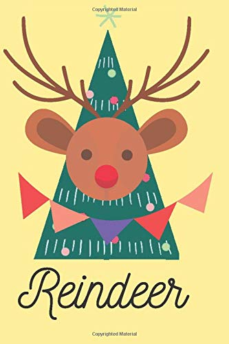 Christmas Reindeer Password Book: Christmas Internet Password Journal with alphabetical tabs,To Protect Usernames and Passwords Login and Private ... - (Size 6x9 in) - White Paper - Matte Cover