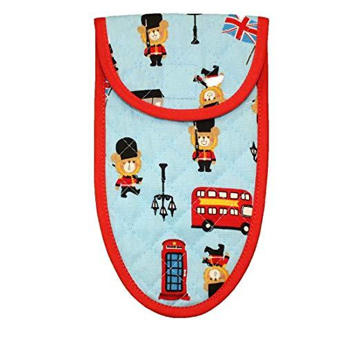 子供用はさみケース 入園 入学 幼稚園 保育園 小学校 (6.ロンドン)