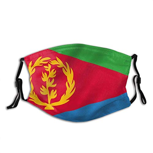 Mouth Protection Eritrea Flag Eritrean Flags Mouth Scarf Face Scarf Face Protection Pattern Colorful Reusable Outdoor Adjustable Printing Windproof Halloween Cycli
