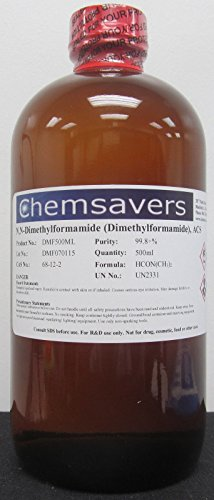 Dimethylformamide, ACS, 99.8+%, 500ml (16oz)
