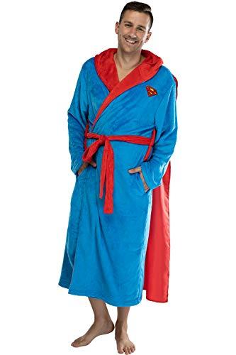 DC Comics Adult Superman Plush Fleece Hooded...