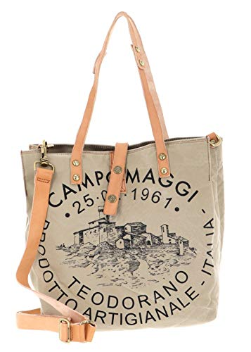 Campomaggi Shopping Bag S Beige + Naturale + St.Nera
