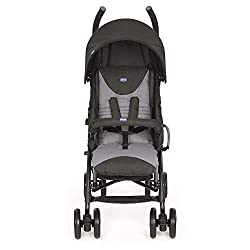 Suitable from birth to 22kg Modern and stylish stroller with attractive colours, also on the rear tubes. 4 position backrest. 5 point safety harness. Folded dimensions: 31 x 105 cm Lightweight, easy to close and transport. WARNING This product is not...