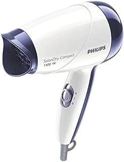 Philips HP8103 Salon Dry Compact Hair Dryer 1400 watt, White