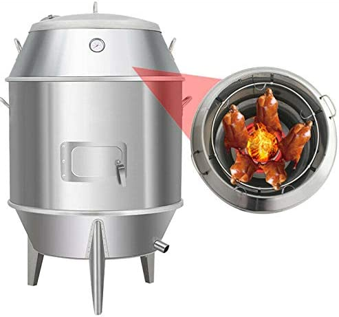 TECHTONGDA OFFicial store Charcoal Chicken Duck Roaster Grill BBQ Oven New product type R Cooker