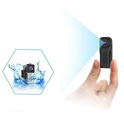 Waterproof Mini Spy Camera, MHDYT 1080P Full HD Small Portable Hidden Camera/Small Security Camera with Motion Detection and Night Vision, Wireless Security Camera Outdoor/Indoor