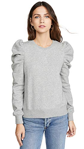 Rebecca Minkoff Women's Janine Sweatshirt, Heather Grey, X-Small