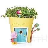 Peppa Pig PP101 Pots Peppa Pig - Kit de hábitat de Animales e Insectos para niños, Multicolor