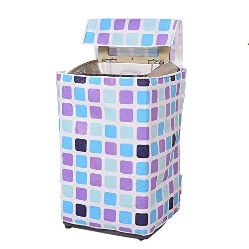 Chyuanhua Wasmachine cover Waterdichte Automatische Wasmachine Zijkant Open Drum Wasmachine Dubbele Vat Wasmachine Stofdichte Zonnebrandcrème Cover Geschikt voor wasmachine droger