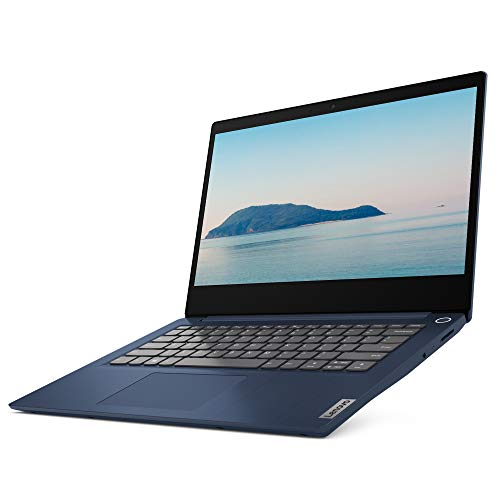 Lenovo IdeaPad 3 14 Inch FHD Laptop - (Intel Pentium Gold, 4 GB RAM, 128 GB SSD, Windows 10 S Mode) - Abyss Blue
