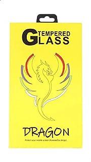 شاشة حماية لاصقة زجاج خماسية الابعاد مضادة لبصمات الاصابع لموبايل شاومي ريدمي 6A من دراجون - اسود