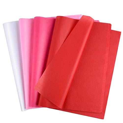 Papel Seda Rojo para Envolver Marca MIAHART