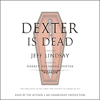 Dexter Is Dead audiobook cover art