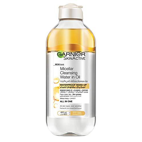 Garnier SkinActive Micellar Cleansing Water with Moroccan Argan Oil 400ml