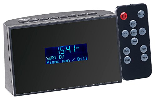 VR-Radio Digitaler Radioreceiver: Digitaler DAB+/FM-Tuner zum Aufrüsten von HiFi-Anlagen, Radiowecker (DAB+ Nachrüsten HiFi Anlage)
