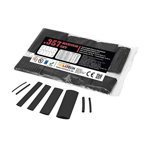 ISO-PROFI® 357 piezas Tubo Retráctil de rango 2:1 en bolsa negro