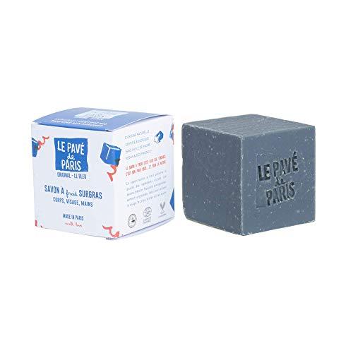 Le pavé de Paris Original bleu - Savon saponifié à froid