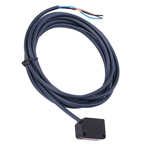 Interruptor fotoeléctrico, interruptor fotoeléctrico El rendimiento de la transmisión del sensor es estable Fácil de conectar Larga vida útil para una variedad de productos de automatización