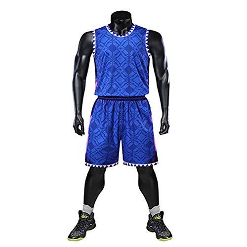 LAFE NBA Baloncesto Uniformes Traje baile hombre sin