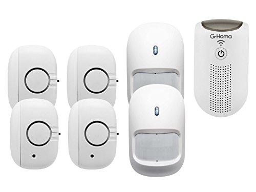 7tlg. WiFi Alarmsystem / Hausalarm mit Bewegungsmelder + App Steuerung für IOS und Android
