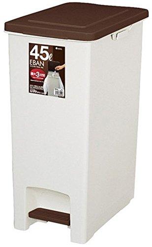 アスベル ゴミ箱 ペダルペール45SD 「エバン」 45L ブラウン