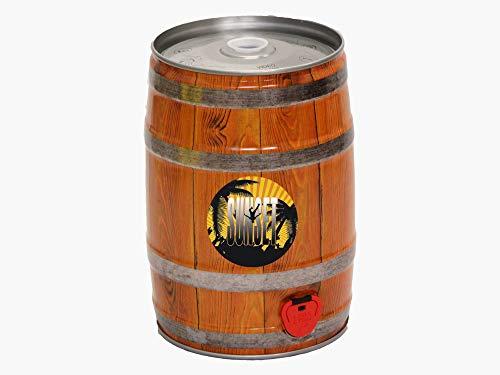 Birra Artigianale Cruda Italiana SUNSET Golden ALE - Fusto 5 Litri - Prodotta da I.C.B. Italian Craft Brewery