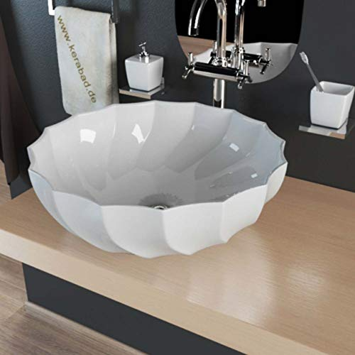 Keramik Aufsatzwaschbecken Waschschale Waschtisch Waschbecken Schale KBW014
