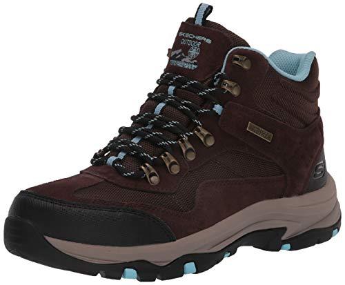 Skechers Women's Hiker Hiking Boot, Chocolate, 9 B (M)