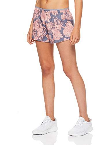 NIKE Elevate Femenino Gris, Rosa - Pantalones Cortos (Deporte, Femenino, Adulto, Gris, Rosa, M, SML)