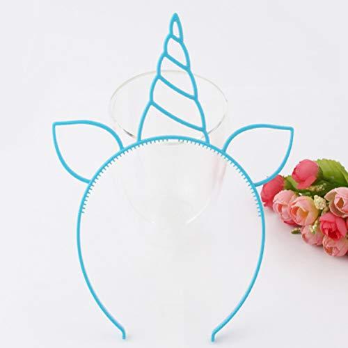 Lurrose 6 stks Hoofdbanden Herten Hoorn Mooie Snoep Kleur Haaraccessoires Oor Haarband Headdress voor Kostuum Cosplay Party