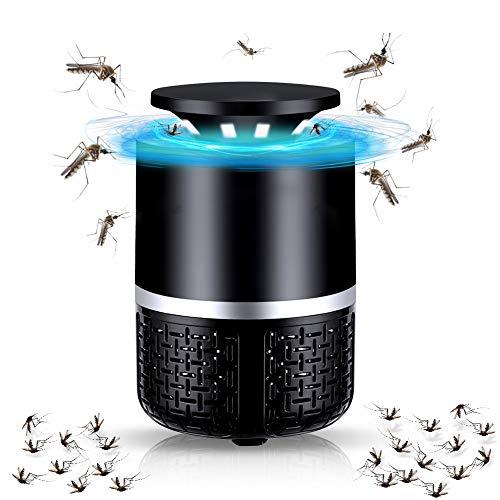 lemebo, Elektrischer UV Bienenkiller Mückenlampe,Insektenfalle Lampe, Stummschaltung, Keine Strahlung ungiftig, für Innen und Außeneinsatz, Blau