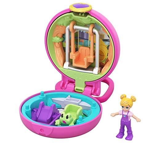Polly Pocket GKJ42 - Mini Schatulle Polly Spielplatz, Spielzeug ab 4 Jahren
